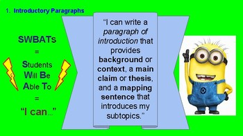Guidelines for Essay Writing -- Argumentative Analysis