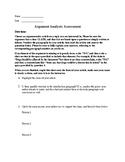 Argumentative Article Analysis