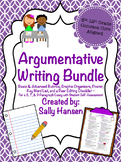 Argumentative Writing Bundle CCSS Aligned for Grades 6th - 12th