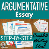 Argumentative Essay - Argumentative Writing Unit Common Core Aligned 6 - 9
