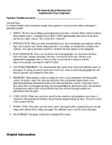 Argumentative Essay Assignment for The Immortal Life of Henrietta Lacks