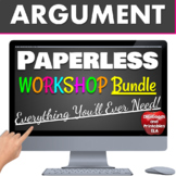 Argumentative Essay Writing BUNDLE Middle School: Google: Digital / printable