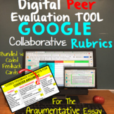 Argumentative Essay Digital Peer Editing and Revision Tools: Google Classroom
