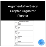 Argumentative Essay Graphic Organizer Planner