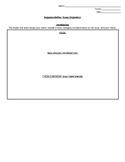 Argumentative Essay Graphic Organizer for Paired Text Argu