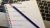 Argumentative Essay Organizer