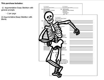 Argumentative Essay Outline (Skeleton)