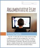 Argumentative Essay Packet / Print & Go / FSA