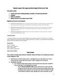 Argumentative Essay Performance Task--Affirmative Action