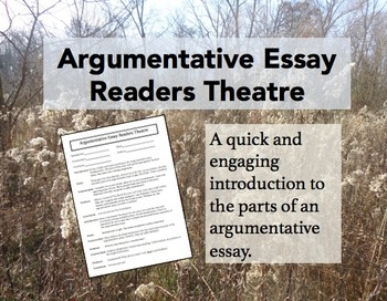 Argumentative Essay Readers Theatre