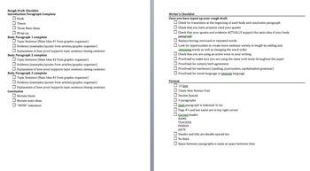 Argumentative Essay - Research Simulation Task - Martin Luther King, Jr.