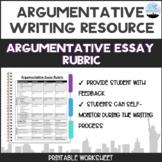 Argumentative Essay Rubric