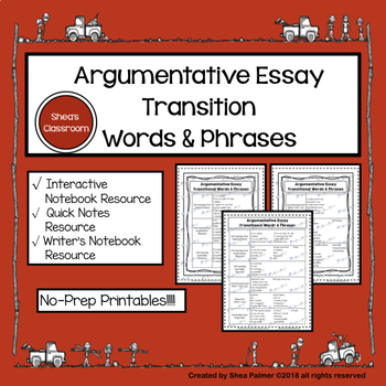 A Complete List of Transition Words For Essays for