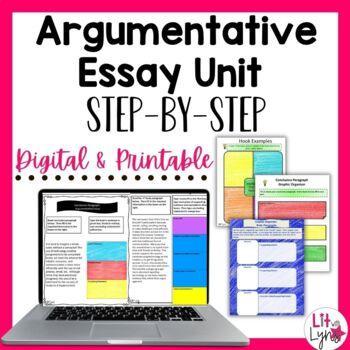 Digital Argumentative Essay Unit