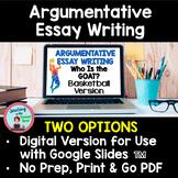 Argumentative Essay Writing Middle School Google Slides™
