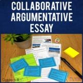 Argumentative Essay Writing Collaborative Activity   Printable