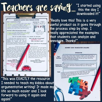 common core argumentative essay Confused about all this talk about common core standards  whether you're  writing an argumentative essay, an informative essay, or a.