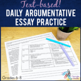 Argumentative Essay Writing Daily Review Bell Ringer Printable