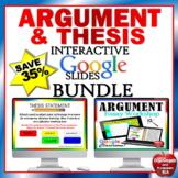Argumentative Essay Writing Google Classroom Distance Learning