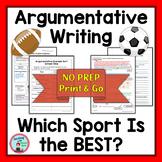 Argumentative Essay Writing Middle School