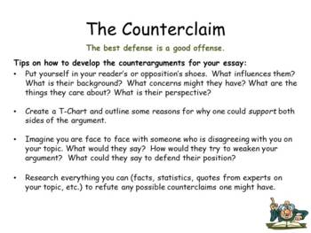 Argumentative Essay Writing (PowerPoint)