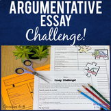 Argumentative Essay Practice - Writing Process & Structure Motivation!