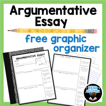 How To Write A Essay Proposal Argumentative Essay Writing Resources  Free Graphic Organizer Research Essay Topics For High School Students also Thesis For Persuasive Essay Argumentative Essay Writing Resources  Free Graphic Organizer  Tpt College Vs High School Essay Compare And Contrast