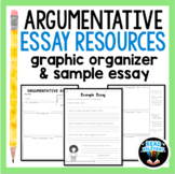Persuasive Essay Writing Graphic Organizer and Sample Essay