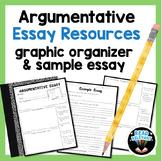 Argumentative Essay Writing Resources : Graphic Organizer