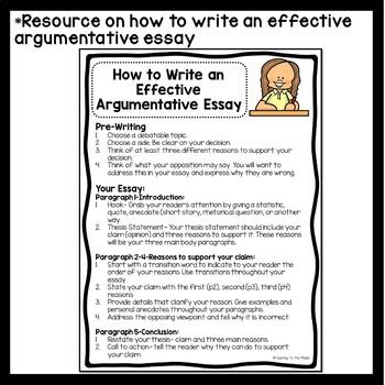Persuasive analysis essay example