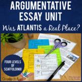 Argumentative Essay Writing Unit   PRINTABLE   Texts Guide