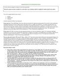 Argumentative Free Response Essay