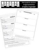 Argumentative / Opinion Essay Graphic Organizer and Outline