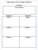 Argumentative/Persuasive Essay Graphic Organizer