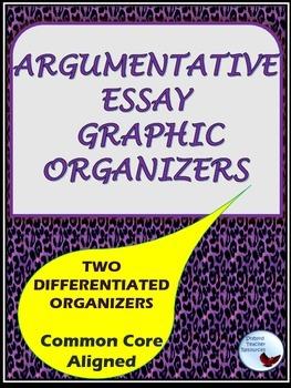 Essay Graphic Organizers Argumentative Claim Counterclaim