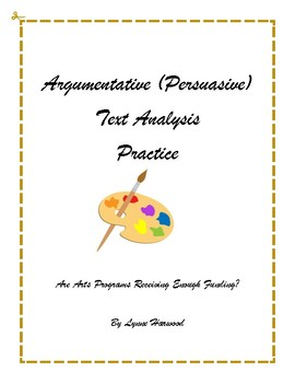 Argumentative (Persuasive) Text Analysis Practice