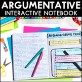 Argumentative Text - Reading Interactive Notebook