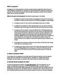 Argumentative Research Essay Prospectus