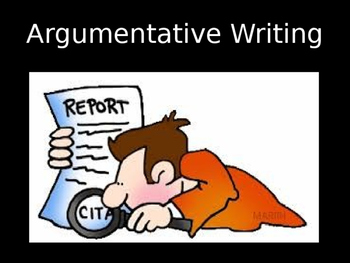 Argumentative Writing PowerPoint