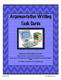 Argumentative Writing Task Cards