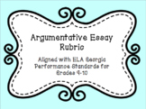 Argumentative Rubric