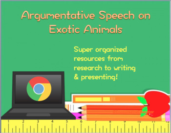 Argumentative Speech on Exotic Animals (Should/Not Be Pets) Collections (4) Text