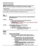 Argumentative Structure Lesson (RI.11-12.5)