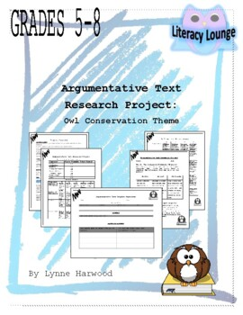 Argumentative Text Research Project