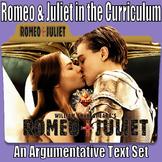 Argumentative Text Set & Prompt - Romeo & Juliet in the Curriculum (AIR & PARCC)