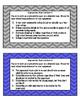 Argumentative Thesis Task Cards