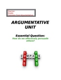 Argumentative Unit for Middle School
