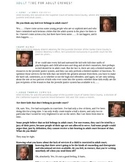 Argumentative Writing- Adult Time for Adult Crimes???