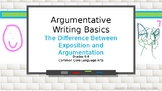 Argumentative Writing Basics for Middle Schoolers
