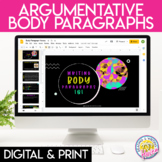 Argumentative Writing Body Paragraph Teaching Materials